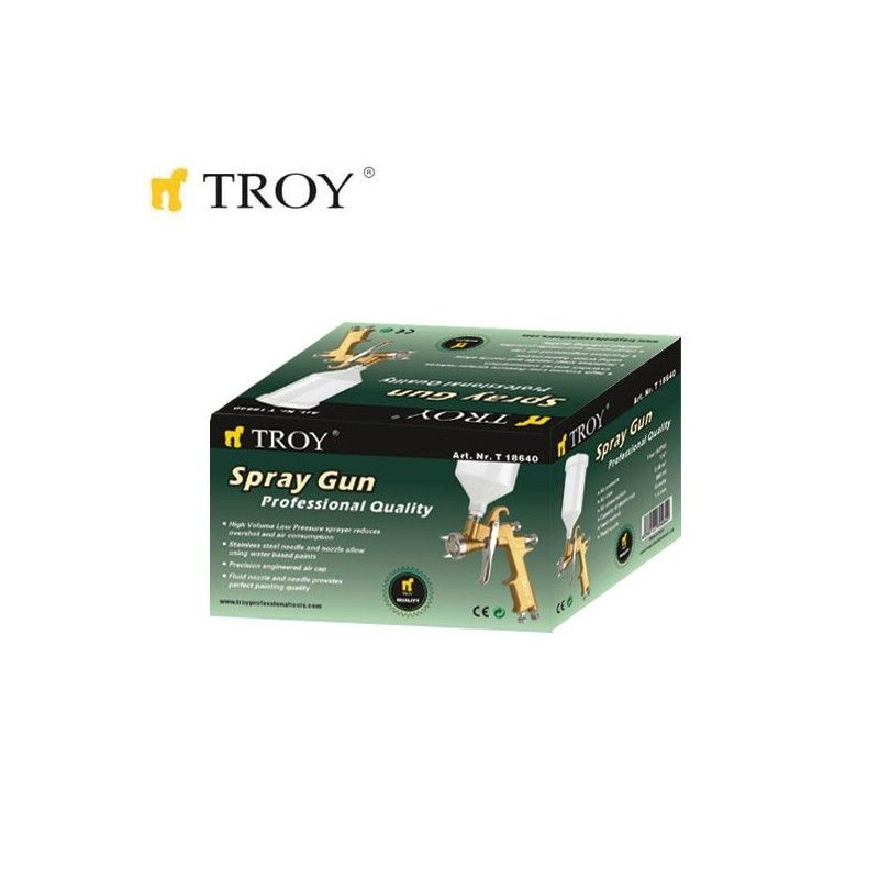 Professional Spray Gun (1.4mm) TROY - 2