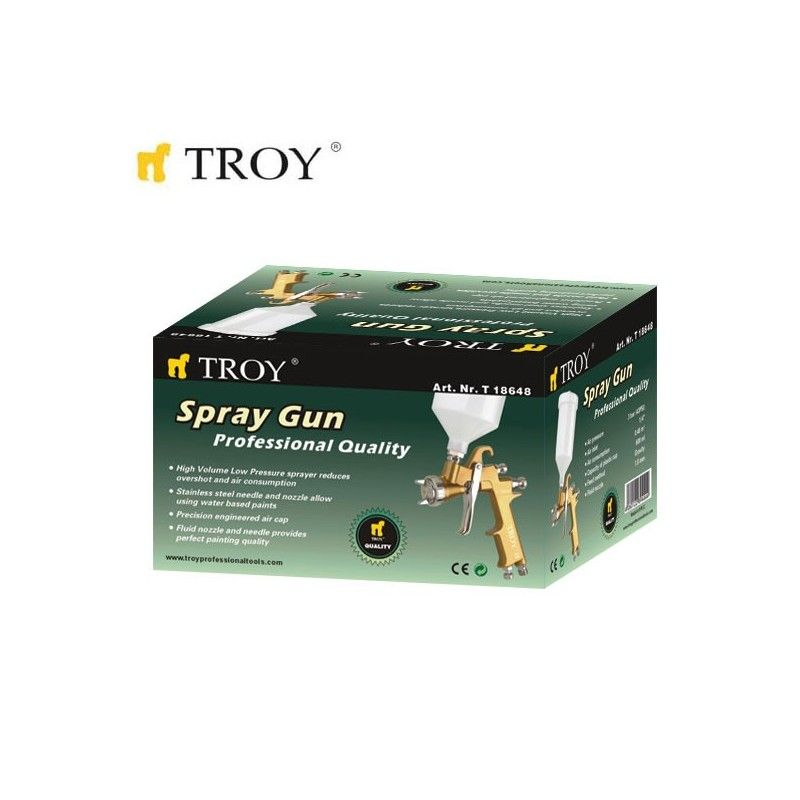 Professional Spray Gun (1.8mm) TROY - 1