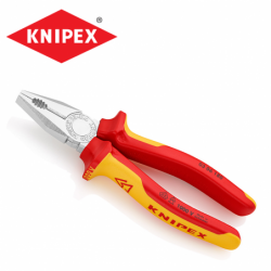 Insulated combination pliers 180 mm / KNIPEX 0306180 /