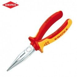 Insulated chain nose side cutting pliers 160 mm / Knipex 2506160 /