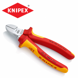 Insulated diagonal cutters 160 mm / KNIPEX 7006160 /