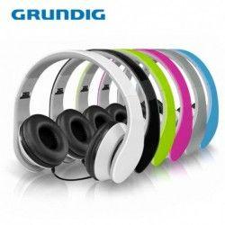 Stereo headphones SILVER EDITION / GRUNDIG 8711252526652 /