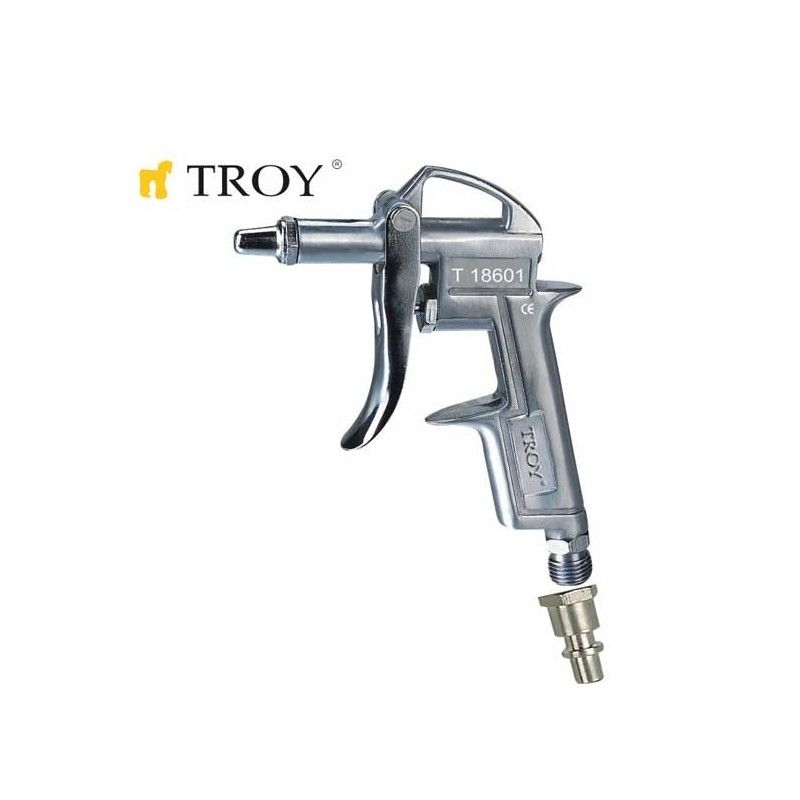 Пневматичен пистолет за въздух с къс накрайник