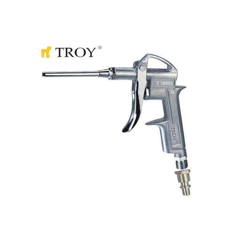 Пневматичен пистолет за въздух с дълъг накрайник