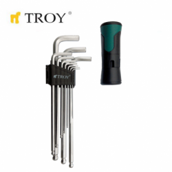 Hex key set - ball point,...