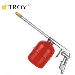 Pneumatic spray gun
