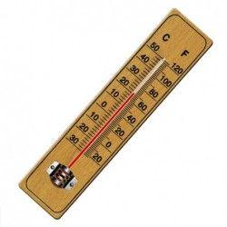 Термометър - дървен гръб, с...