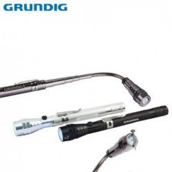 3 LED Torch, telescopic - with flexible arm 4