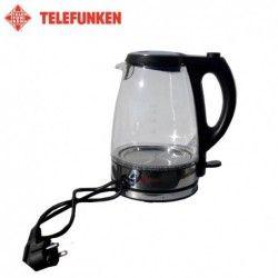 Електрическа стъклена кана 1.7 литра, син LED / TELEFUNKEN /