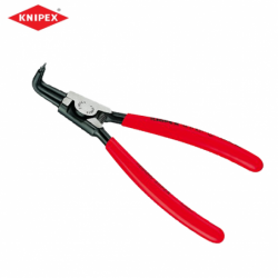 Circlip pliers - 10-25 mm, opening, length - 125 mm, bent / KNIPEX 4621A11 /