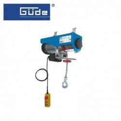 Electric hoist 230 V / 1600W, 500/1000kg / GÜDE 1709 /