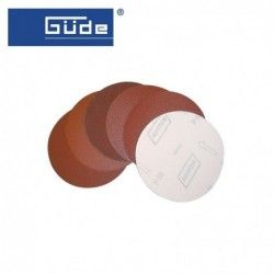Velcro disc 3 pieces K 60 for wood sanding / GUDE 22140 /