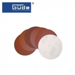 Velcro disc 3 pieces K 80 for wood sanding / GUDE 22141 /