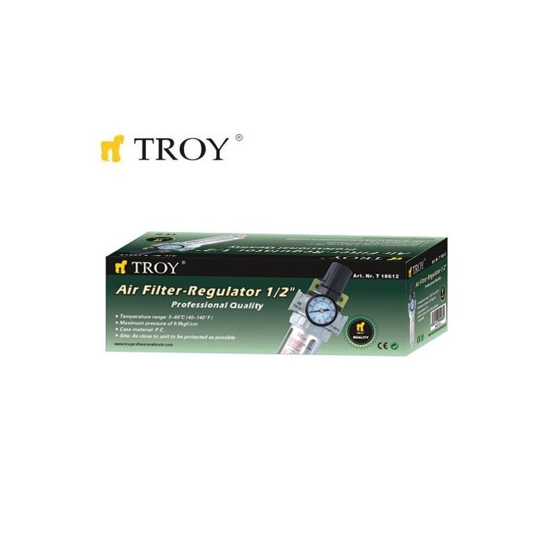 "Combined Filter with Regulator 1/2"" / Troy 18612 / TROY - 1"