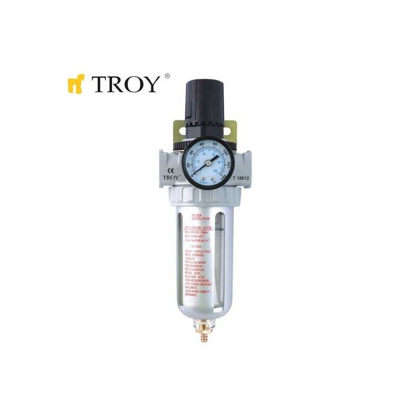 "Combined Filter with Regulator 1/2"" / Troy 18612 /"