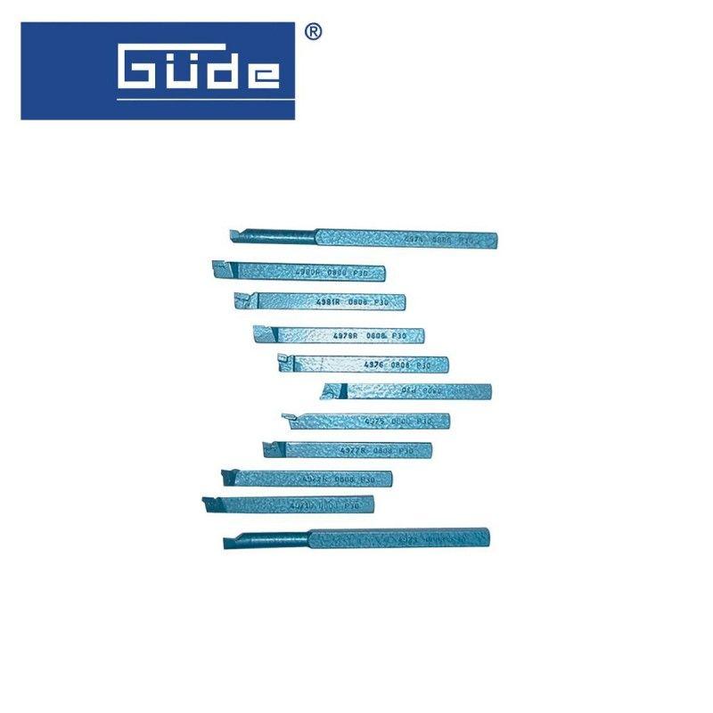 Комплект стругарски ножове 11 части / GUDE 40312 /