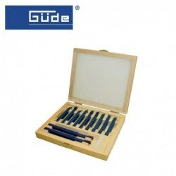 Комплект стругарски ножове 11 части / GUDE /