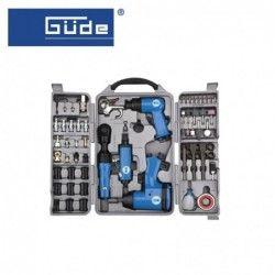 Комплект пневматични инструменти 71 части / GUDE 40401 /