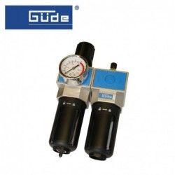 Пневматичен филтър, регулатор и омаслител 1/4NPT / GUDE 41084 /
