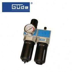 Пневматичен филтър, регулатор и омаслител 3/8NPT / GUDE 41085 /