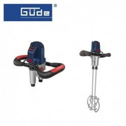 Електрически миксер за строителни разтвори GRW 1800-2 TWIN / GUDE 58054 /