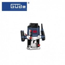 Router OF 1200 E, 1200W, Collet holder 6+8 mm / GÜDE 58117 /