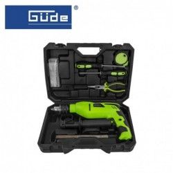 Tool set with impact drill / GÜDE 58133 / 750W, 38 pieces