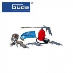 Кпл. пневматични инструменти, 5 части / GUDE 84089 /