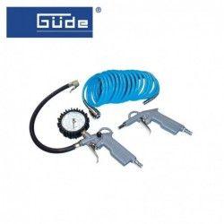Комплект пневматични инструменти, 3 части / GUDE 84091 /