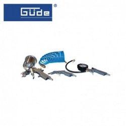 Комплект пневматични инструменти, 4 части / GUDE 84092 /