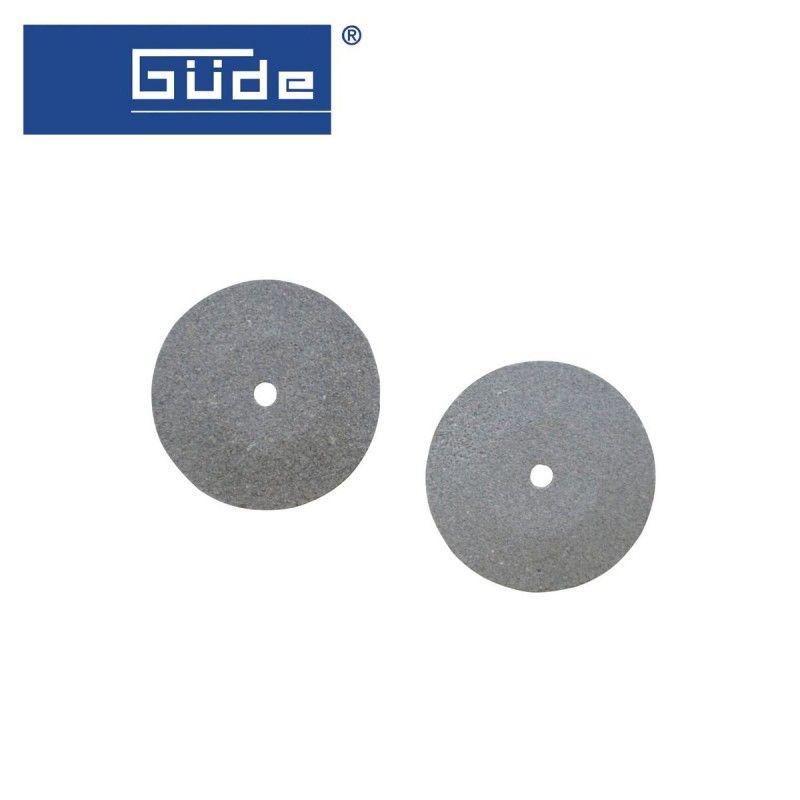 Шлайфащ камък за GMS 45, комплект от 2 броя - груб и фин / GÜDE 94119 /