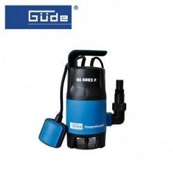 Помпа за изпомпване на замърсена вода GS 4002 P / GUDE 94630 /