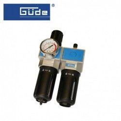 Пневматичен филтър, регулатор и омаслител 1/2NPT / GUDE 41079 /
