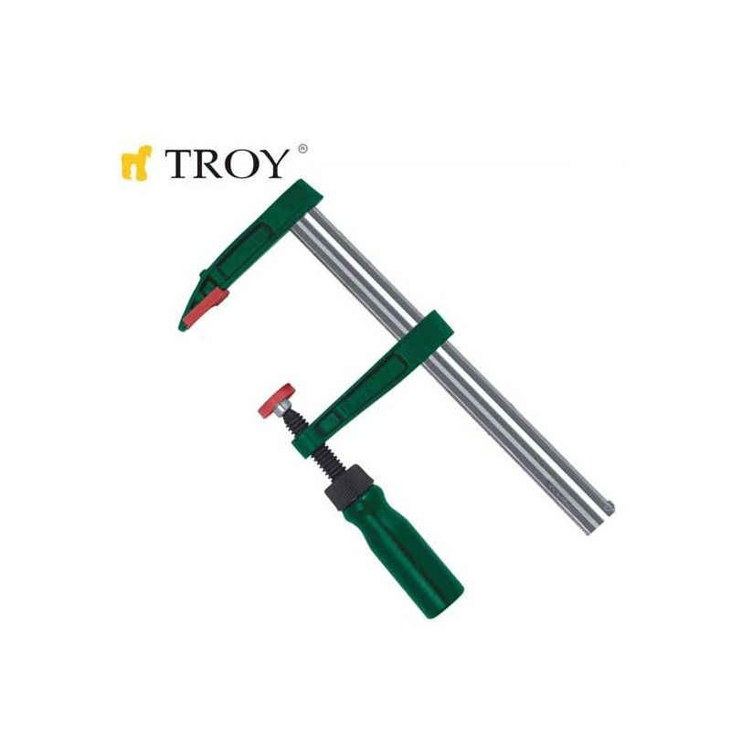 Clamp, F-Type (80x250mm) TROY - 1