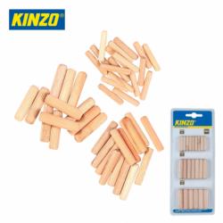 Wooden dowels 44 pieces  / KINZO 8711252544120 /