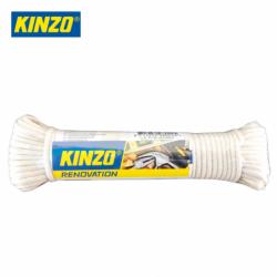 Въже полиестер / памук 15.2 m x 3 mm  / KINZO 8711252980225 /