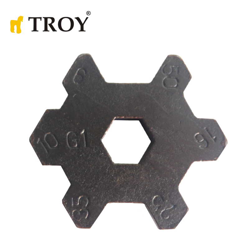 Резервни челюсти за механични кербоващи клещи 380 мм / TROY 24009-R /