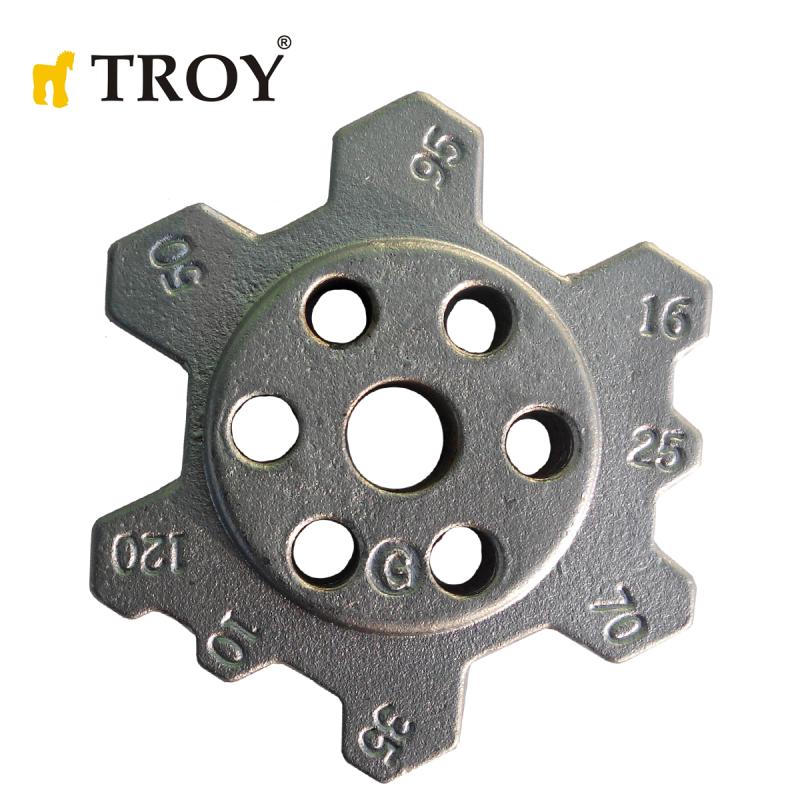 Резервни челюсти за механични кербовъчни клещи 650мм  / TROY 24010-R /