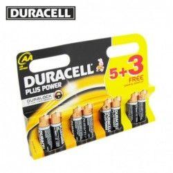 Батерии DURACELL AA x 5 + 3...