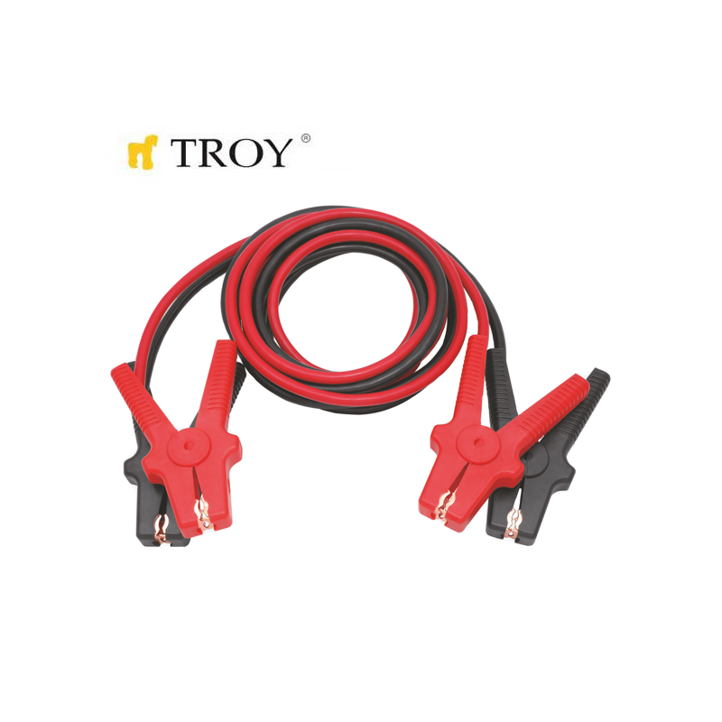 Battery Booster Cable  12V - 24V, 25mm?, 3.5m, For Minibusses  TROY - 2