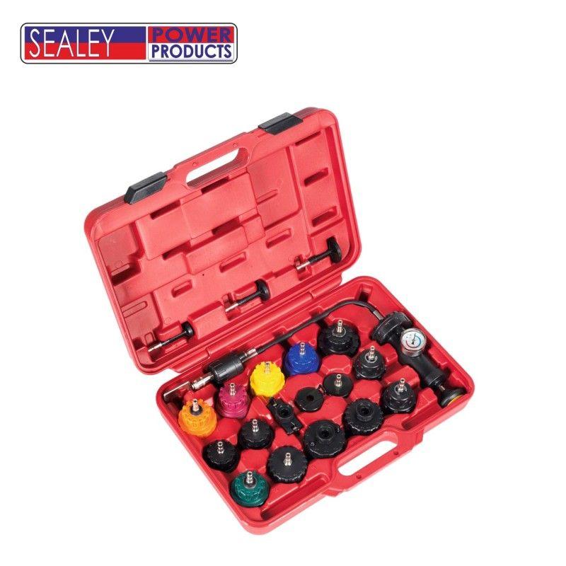Комплект за тестване на охладителната система на двигатели / SEALEY VS001 /