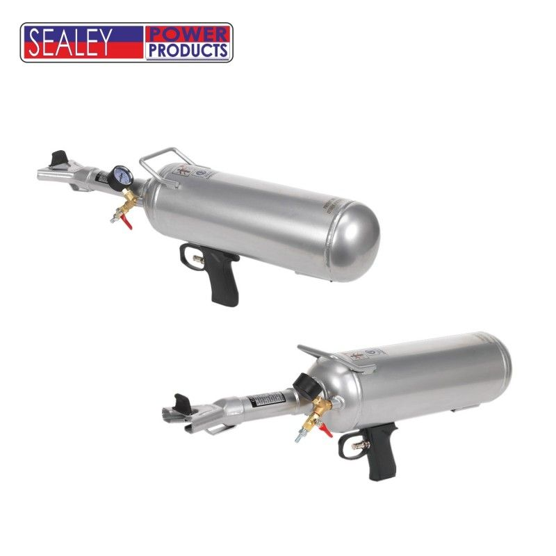 Пневматичен инструмент за нагласяне на автомобилни гуми върху джанти / SEALEY VS301 / 6 Л.