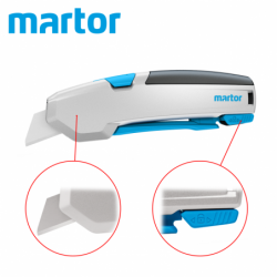 Professional utility knife SECUPRO 625 / Martor 625002 / with extra safety functions