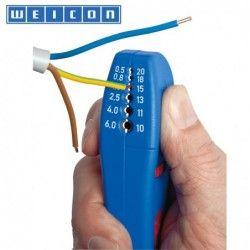 Инструмент за оголване на кабели Ø 4-28 мм / WEICON 50057328 /