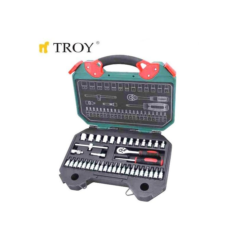 Socket Set  Metric / Troy 26100 /
