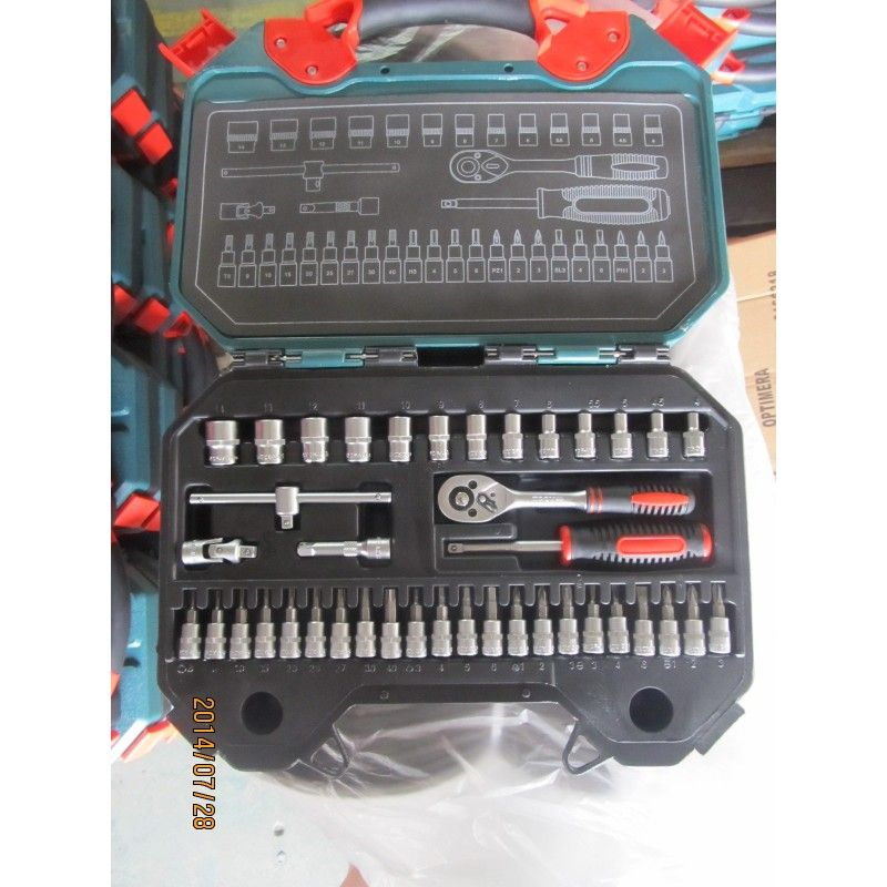 Socket Set 40Pieces, Metric / Troy 26100 / TROY - 4