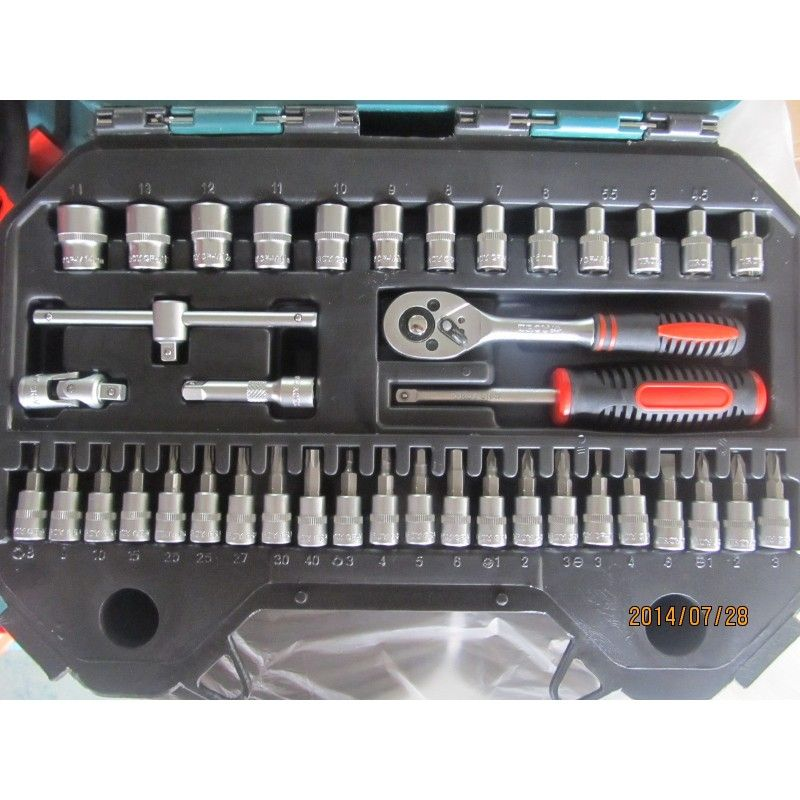 Socket Set 40Pieces, Metric / Troy 26100 / TROY - 5