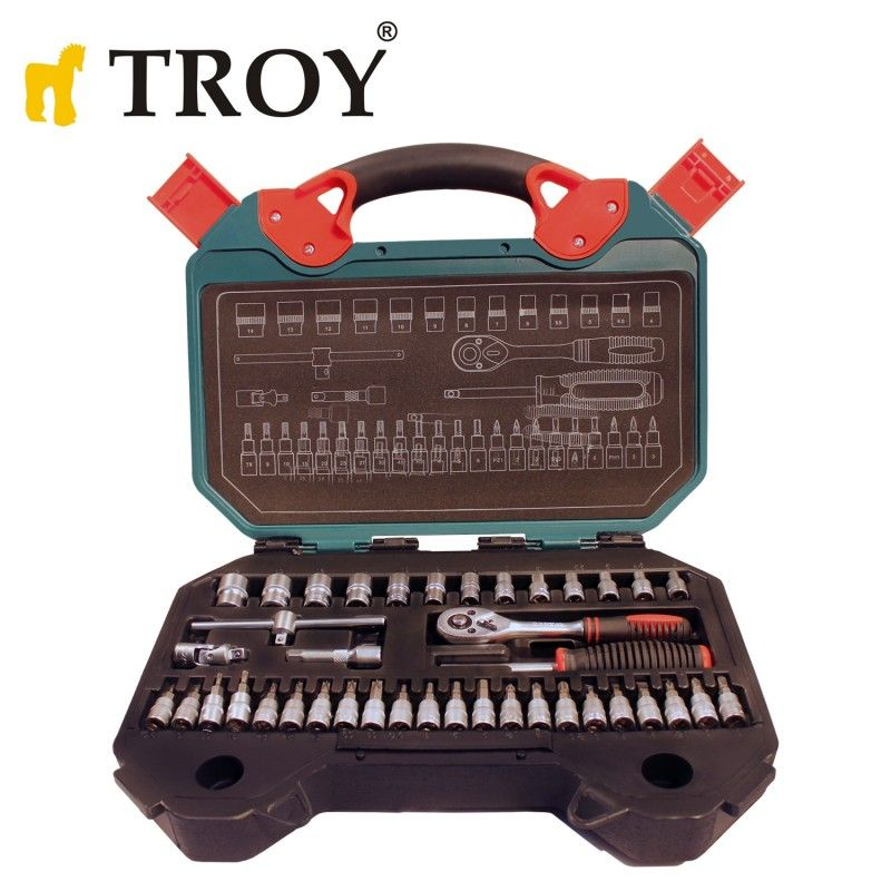 Socket Set 40Pieces, Metric / Troy 26100 /
