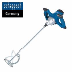 Електрически миксер за строителни разтвори PM1200 / Scheppach 5907801901 /