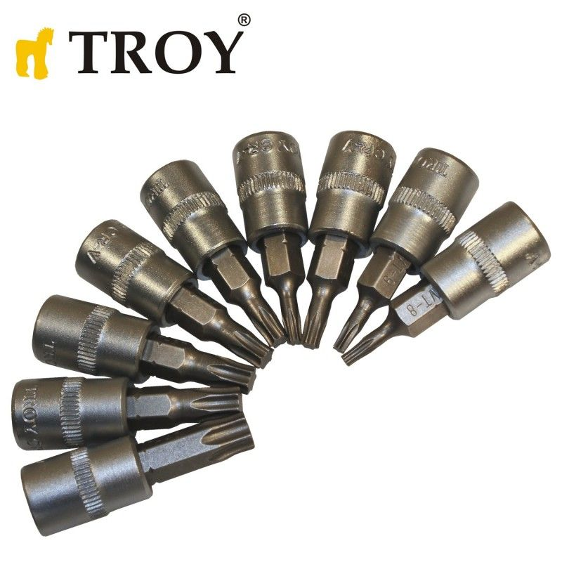 Socket Set 40Pieces, Metric / Troy 26100 / TROY - 8
